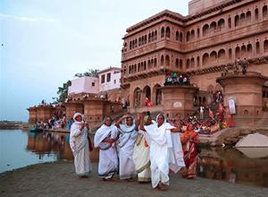 Yamuna Ghat Vrindavan